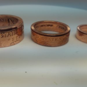 Copper Coin Rings